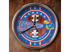 Kansas Jayhawks Chrome Clock Bed & Bath