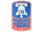 Philadelphia 76ers Wincraft 11x17 Wood Sign Flags & Banners