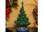 Kansas Jayhawks NCAA lighted Xmas Tree 14.5