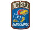 Kansas Jayhawks Wincraft 11x17 Wood Sign Flags & Banners