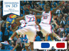 Kansas Jayhawks 3D Book with Glasses Collectibles