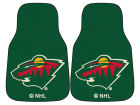 Minnesota Wild Car Mats Set/2 Auto Accessories