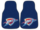 Oklahoma City Thunder Car Mats Set/2 Auto Accessories
