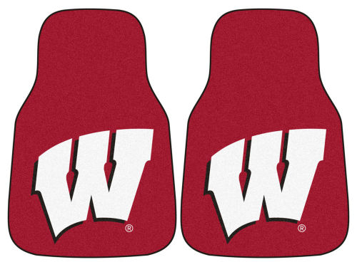 Wisconsin Badgers Car Mats Set/2
