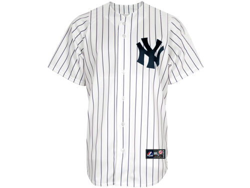 New York Yankees Majestic MLB Youth Blank Replica Jersey