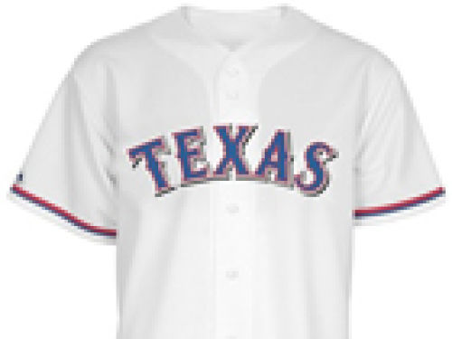 Texas Rangers Majestic MLB Youth Replica Jersey