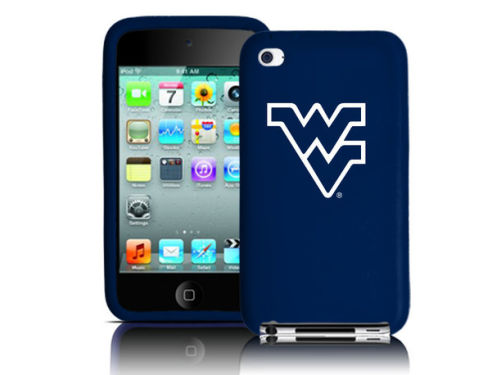 West Virginia Mountaineers iPod Touch 4th Gen. Silicone Skin Tribeca