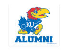 Kansas Jayhawks Wincraft 3x4 Ultra Decal Auto Accessories