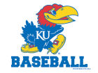Kansas Jayhawks Wincraft 3x4 Ultra Decal Bumper Stickers & Decals