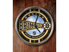 Boston Bruins Chrome Clock Bed & Bath