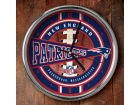 New England Patriots Chrome Clock Bed & Bath