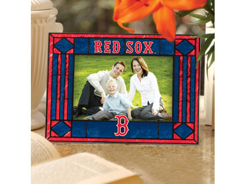 Boston Red Sox Art Glass Picture Frame