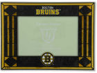 Boston Bruins Art Glass Picture Frame Bed & Bath