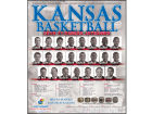 Kansas Jayhawks 10-11 Mens Basketball Calendar Knick Knacks