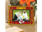 Kansas City Chiefs Art Glass Picture Frame Bed & Bath