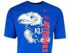 Kansas Jayhawks NCAA Vert Shadow T-Shirt T-Shirts