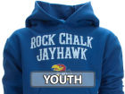 Kansas Jayhawks Youth Hoodie Sweatshirts