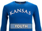 Kansas Jayhawks NCAA Youth Arch Long Sleeve T-Shirt T-Shirts