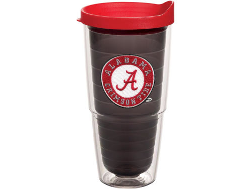 Alabama Crimson Tide Tervis Tumbler NCAA 24oz. Team Color Tumbler with Lid