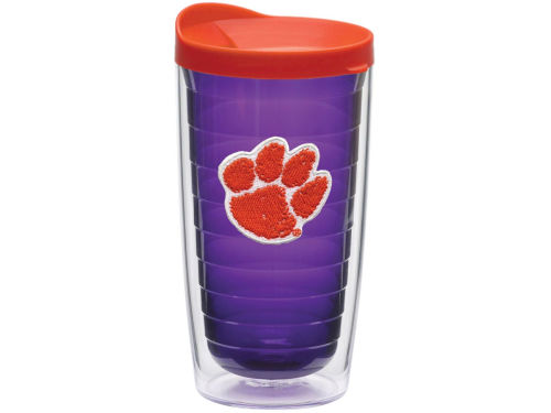 Clemson Tigers Tervis Tumbler NCAA 16oz Team Color Tumbler With Lid
