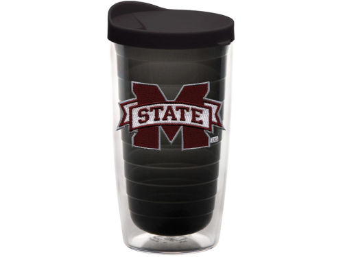 Mississippi State Bulldogs Tervis Tumbler NCAA 16oz Team Color Tumbler With Lid