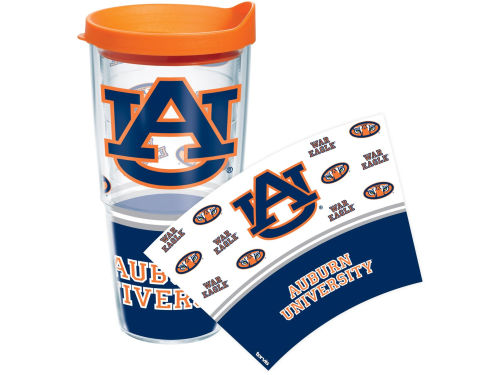 Auburn Tigers Tervis Tumbler NCAA 24oz. Wrap Tumbler with Lid