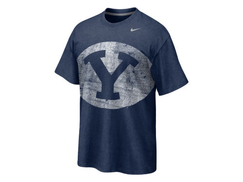 Brigham Young Cougars Nike NCAA Big Time T-Shirt