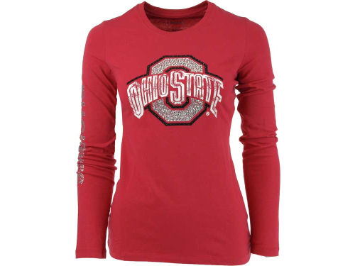 Ohio State Buckeyes Campus Couture NCAA Womens Taylor Long Sleeve T-Shirt
