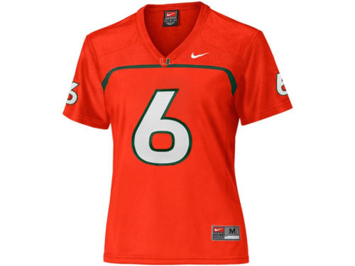 Miami Hurricanes #6 Nike NCAA Replica Football Jersey