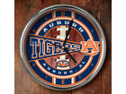 Auburn Tigers Chrome Clock Bed & Bath