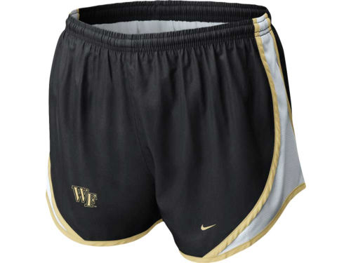 Wake Forest Demon Deacons Nike NCAA Womens Tempo Shorts