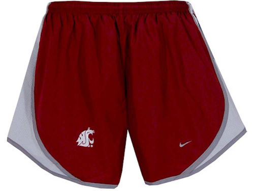 Washington State Cougars Nike NCAA Womens Tempo Shorts