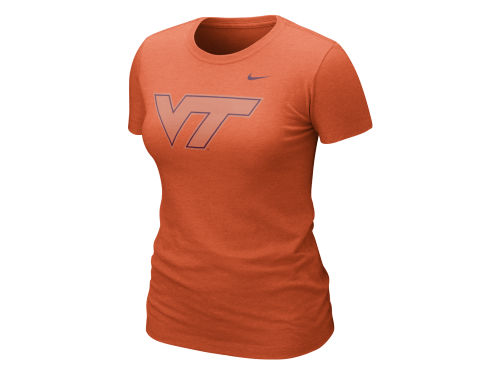 Virginia Tech Hokies Nike NCAA Womens Nice Logo T-Shirt