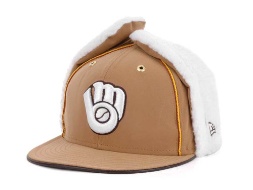 Milwaukee Brewers New Era MLB Dabu 11 59FIFTY Hats