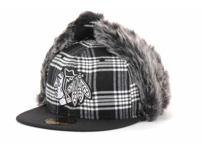 Chicago Blackhawks NHL Bufdog 59FIFTY Hats