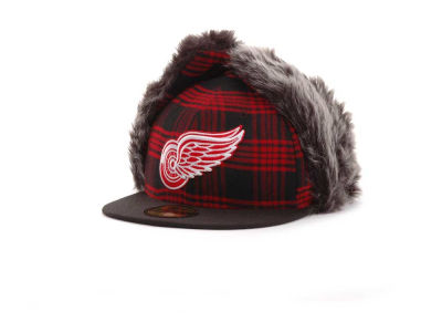 Detroit Red Wings NHL Bufdog 59FIFTY Hats