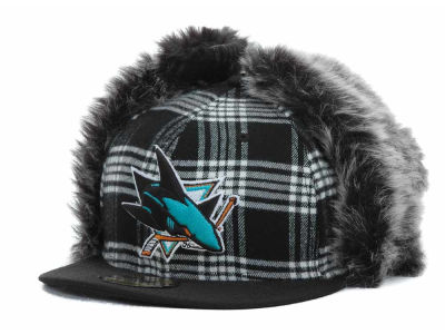 San Jose Sharks NHL Bufdog 59FIFTY Hats