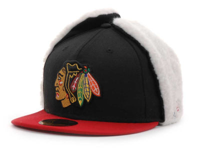 Chicago Blackhawks NHL Dogear 59FIFTY Hats