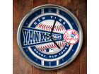 New York Yankees Chrome Clock Bed & Bath
