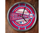 Philadelphia Phillies Chrome Clock Bed & Bath