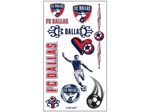 FC Dallas Wincraft Temporary Tattoos