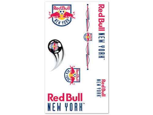 New York Red Bulls Wincraft Temporary Tattoos