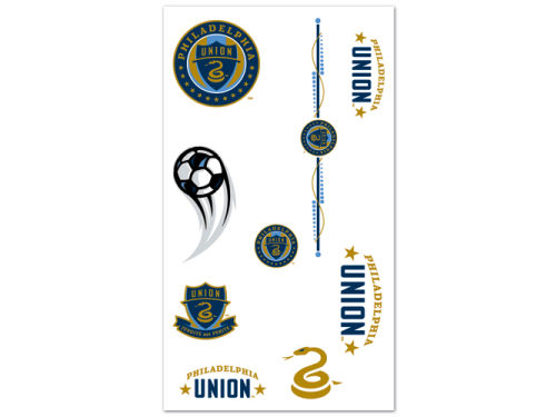 Philadelphia Union Wincraft Temporary Tattoos