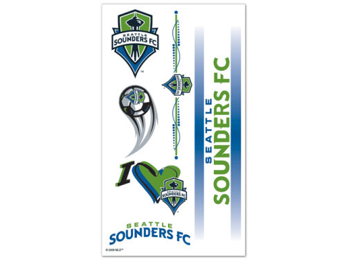 Seattle Sounders FC Wincraft Temporary Tattoos