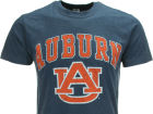 Auburn Tigers NCAA Heathered Big Arch N Logo T-Shirt T-Shirts