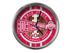 Ohio State Buckeyes Chrome Clock Bed & Bath