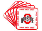 Ohio State Buckeyes 6pk Coaster Set Kitchen & Bar
