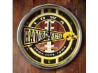 Iowa Hawkeyes Chrome Clock Bed & Bath