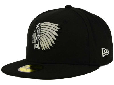 Boston Braves MLB Black and White Fashion 59FIFTY Cap Hats