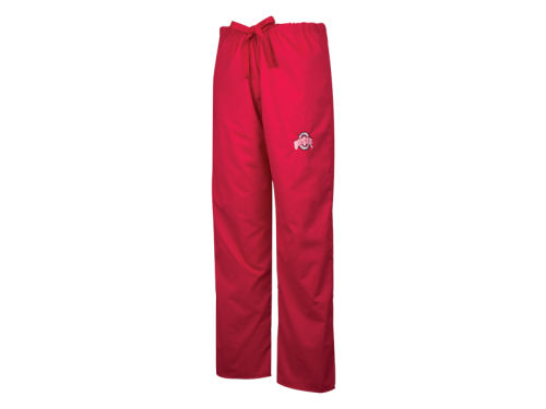 Ohio State Buckeyes NCAA Womens Athletic Scrub Pants